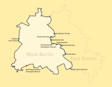 Berlin Wall Checkpoints