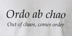 Image result for out of chaos comes order