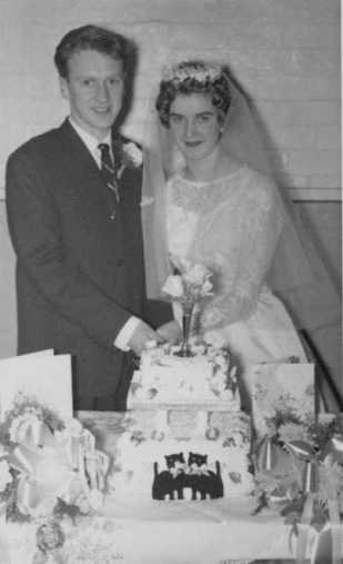 Mum and Dad Wedding Day