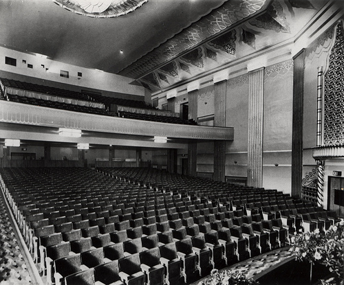 053053:The auditorium Capitol cinema Durham Road Low Fell Gateshead Riddell c.1935