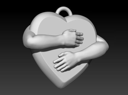 shape-of-my-heart-3d-model-obj-stl